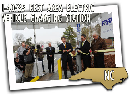 I-40/85 Rest Area Electric Vehicle Charging Station