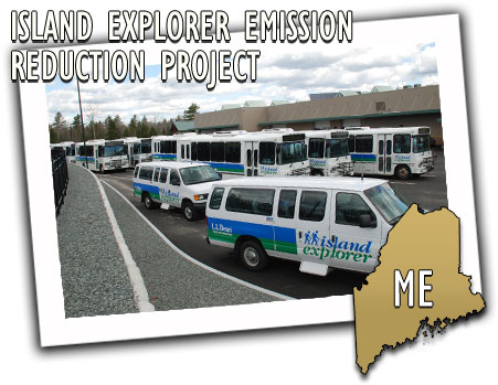 Maine Department of Transportation Island Explorer Emissions Reduction Project