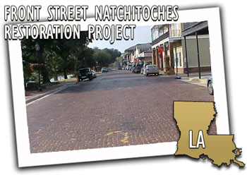 Front Street Natchitoches Project