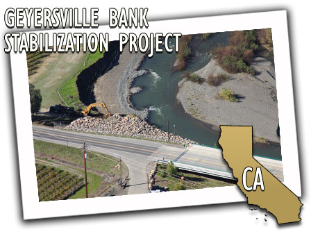 Geyersville Bank Stabilization Project