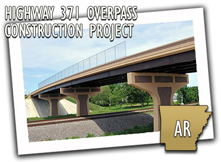 Highway 371 Overpass Construction Project