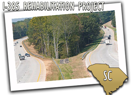 South Carolina Department of Transportation I-385 Rehabilitation Project