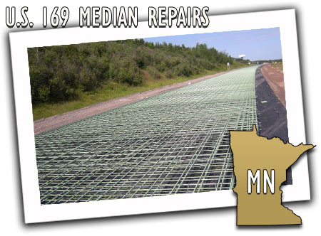 Minnesota Department of Transportation US 169 Median Repairs