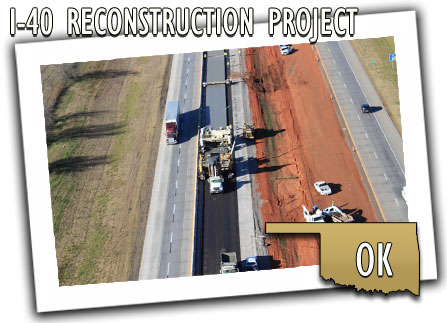 Oklahoma Department of Transportation I-40 Reconstruction Project