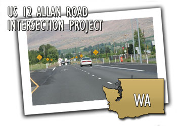 US 12 Allan Road Intersection Project