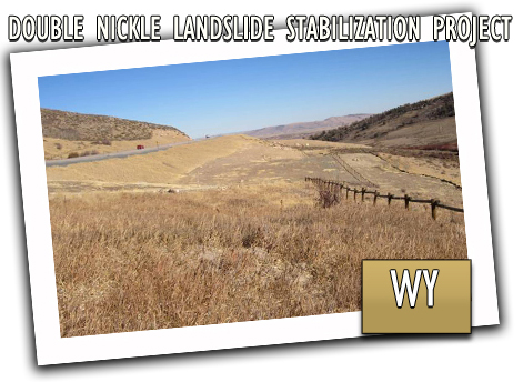 Double Nickel Landslide Stablization Project
